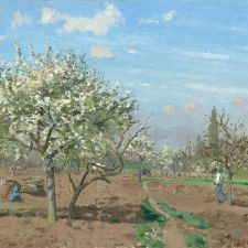 Camille Pissarro, Orchard in Bloom (1872)