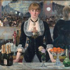 Edouard Manet, A Bar at the Folies-Bergère (1881-1882)
