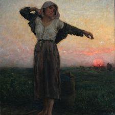 Jules Breton, The Tired Gleaner (1880)