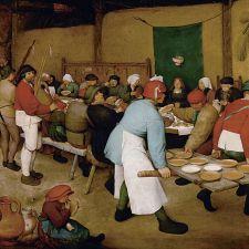 Pieter Bruegel the Elder, Peasant Wedding (1568)
