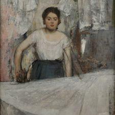 Edgar Degas, Women Ironing (1869)